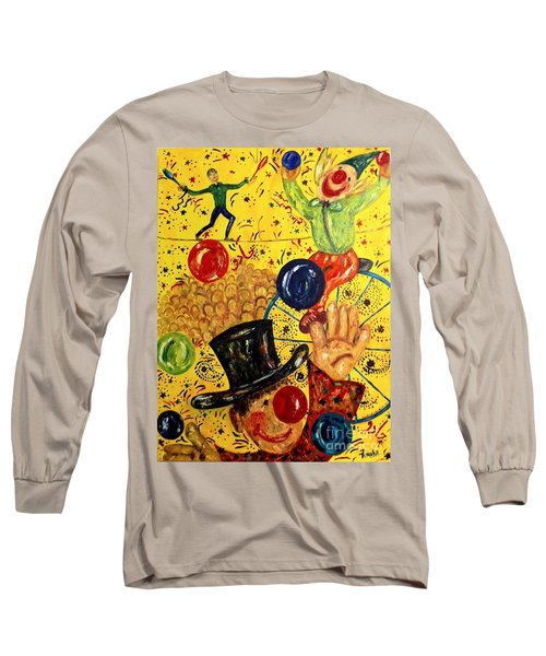 Run Away With A Circus Long Sleeve T-Shirt