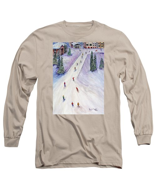 Rush Hour Long Sleeve T-Shirt by Loretta Luglio