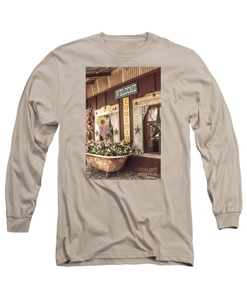 Rustic Country Welcome Long Sleeve T-Shirt