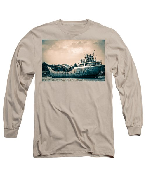 Rusty Ship Long Sleeve T-Shirt