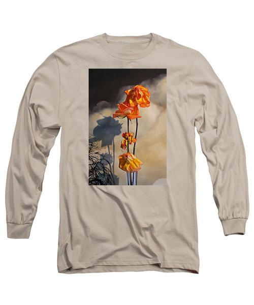 Sad To See You Go Long Sleeve T-Shirt by John Stuart Webbstock