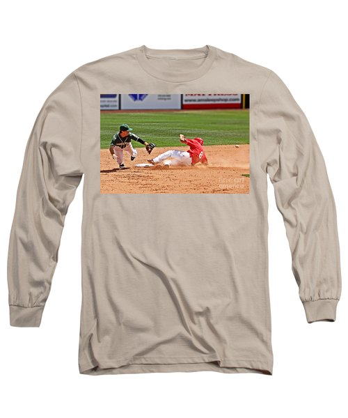 Safe At Second Long Sleeve T-Shirt