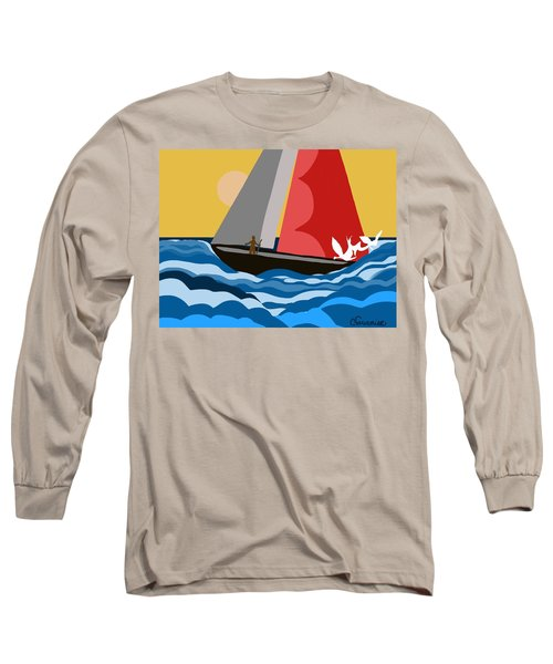 Sail Day Long Sleeve T-Shirt
