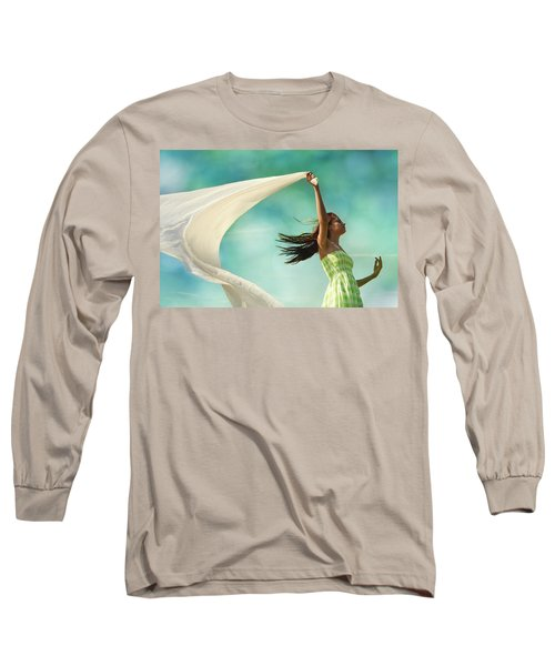 Sailing A Favorable Wind Long Sleeve T-Shirt