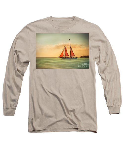 Sailing Into The Sun Long Sleeve T-Shirt