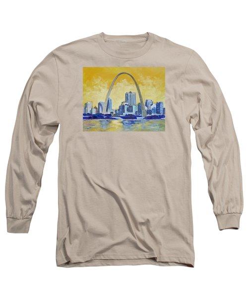 Saint Louis Skyline 1 Long Sleeve T-Shirt