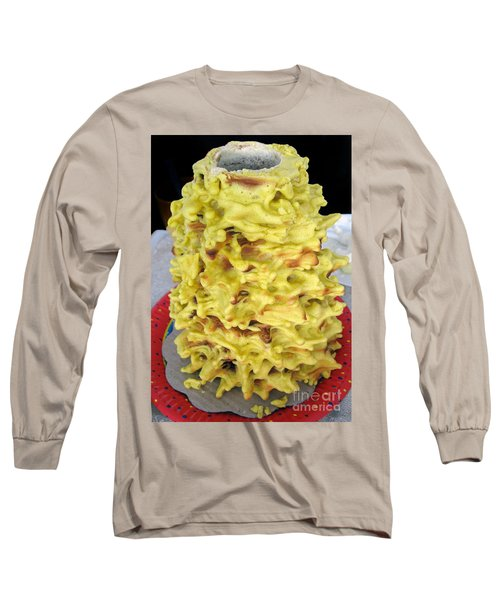 Sakotis. Lithuanian Tree Cake. Long Sleeve T-Shirt