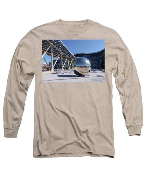 Long Sleeve T-Shirt featuring the photograph Salt Lake City Police Station - 1 by Ely Arsha