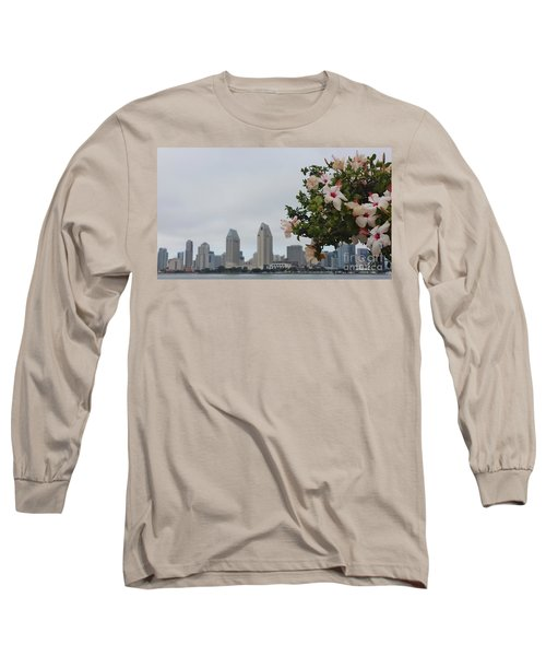 Long Sleeve T-Shirt featuring the photograph San Diego From Coronado View by Jasna Gopic