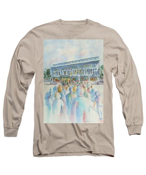 San Diego Ideal Org Long Sleeve T-Shirt by Debbie Lewis