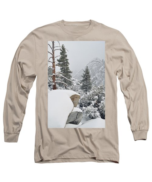 Long Sleeve T-Shirt featuring the photograph San Jacinto Winter Wilderness by Kyle Hanson