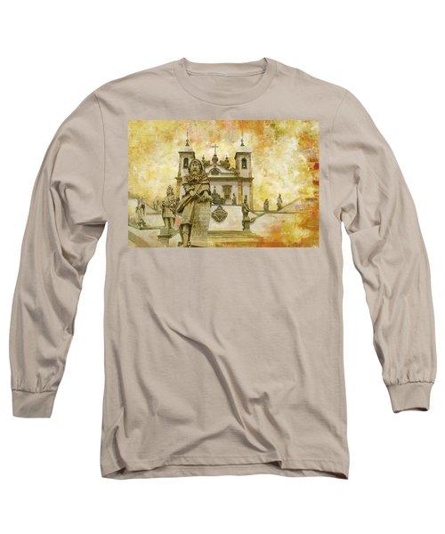Sanctuary Of Bom Jesus Do Congonhas  Long Sleeve T-Shirt