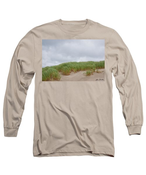 Sand Dunes And Grass Long Sleeve T-Shirt