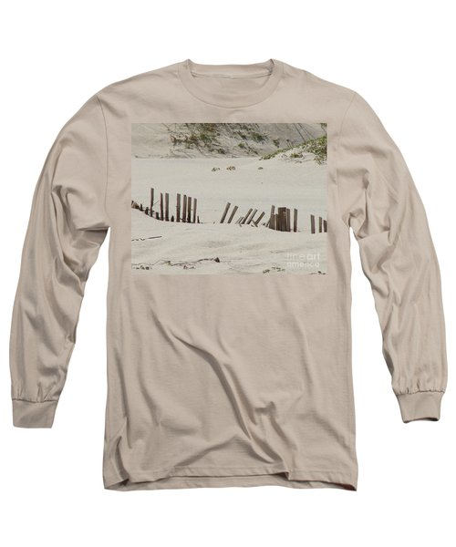 Sand Dunes At Gulf Shores Long Sleeve T-Shirt