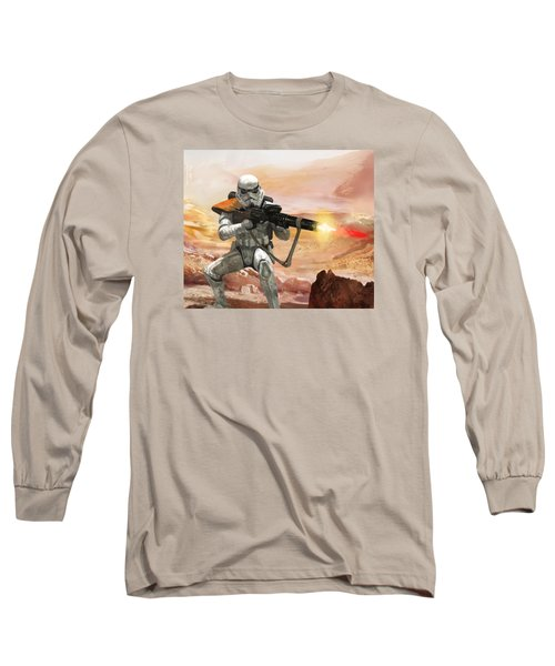 Sand Trooper - Star Wars The Card Game Long Sleeve T-Shirt