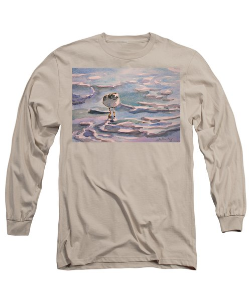 Sandpiper And Seafoam 3-8-15 Long Sleeve T-Shirt