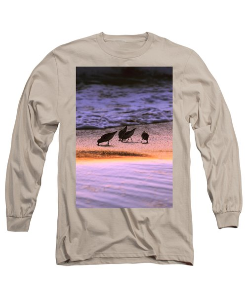 Sandpiper Morning Long Sleeve T-Shirt