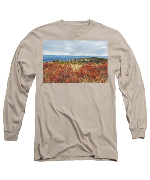 Sandstone Peak Fall Landscape Long Sleeve T-Shirt