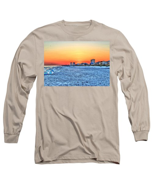 Sandy Sunset Long Sleeve T-Shirt