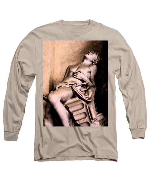 Santa Croche Sculpture Long Sleeve T-Shirt