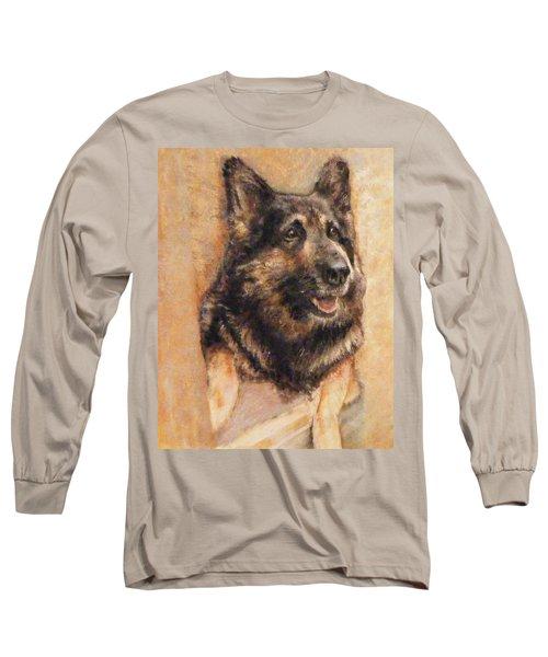Sasha German Shepherd Long Sleeve T-Shirt
