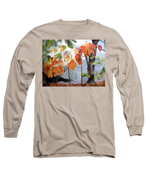 Sassafras Trees On The Ridge Long Sleeve T-Shirt