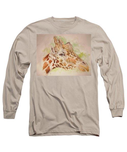 Savanna Giraffe Long Sleeve T-Shirt