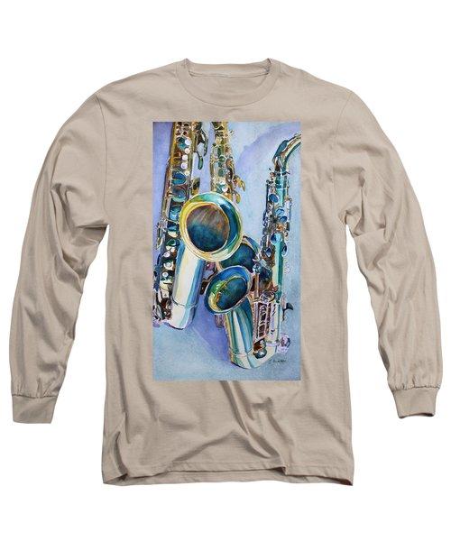 Saxy Trio Long Sleeve T-Shirt