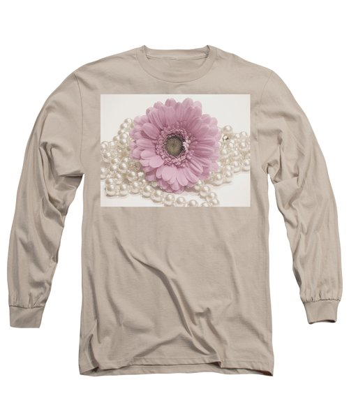 Say It With Pearls Long Sleeve T-Shirt
