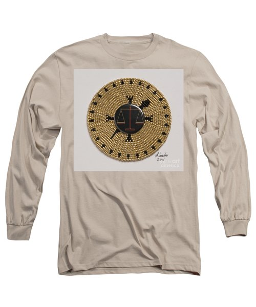 Scales Of Justice Long Sleeve T-Shirt
