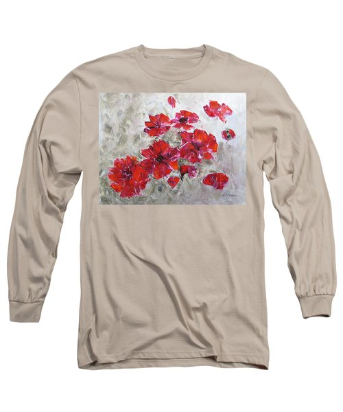 Scarlet Poppies Long Sleeve T-Shirt