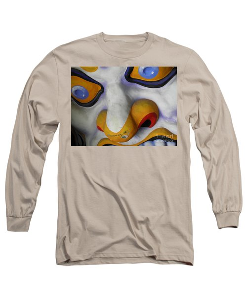 Scary Long Sleeve T-Shirt by Valerie Reeves