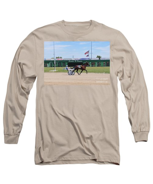 D3w-206 Scioto Downs Photo Long Sleeve T-Shirt
