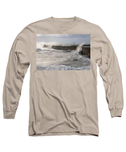 Scottish Sea Storm Long Sleeve T-Shirt