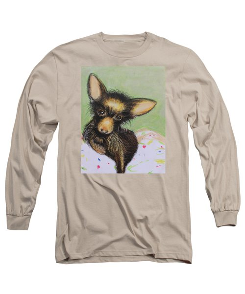 Scrapper Long Sleeve T-Shirt by Jeanne Fischer
