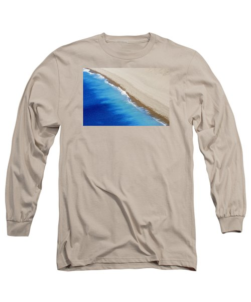 Long Sleeve T-Shirt featuring the photograph Sea And Sand by Wendy Wilton