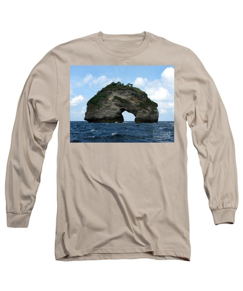 Long Sleeve T-Shirt featuring the photograph Sea Gate by Sergey Lukashin