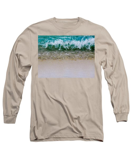 Sea Shore Colors Long Sleeve T-Shirt