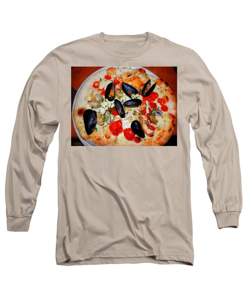 Seafood Pizza Long Sleeve T-Shirt