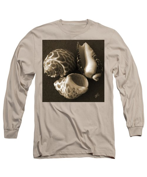 Seashells Spectacular No 1 Long Sleeve T-Shirt