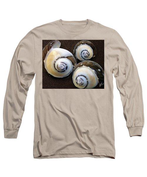 Seashells Spectacular No 23 Long Sleeve T-Shirt by Ben and Raisa Gertsberg