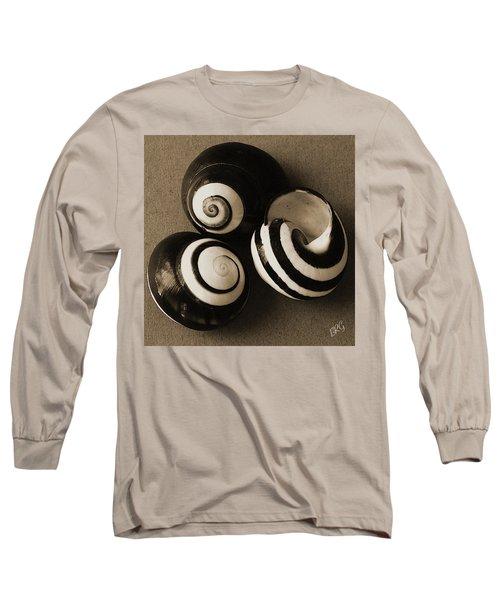 Seashells Spectacular No 27 Long Sleeve T-Shirt by Ben and Raisa Gertsberg