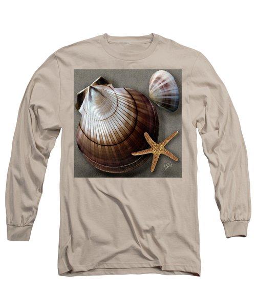 Seashells Spectacular No 38 Long Sleeve T-Shirt by Ben and Raisa Gertsberg