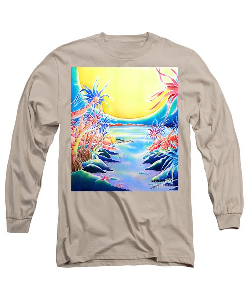 Seashore In The Moonlight Long Sleeve T-Shirt