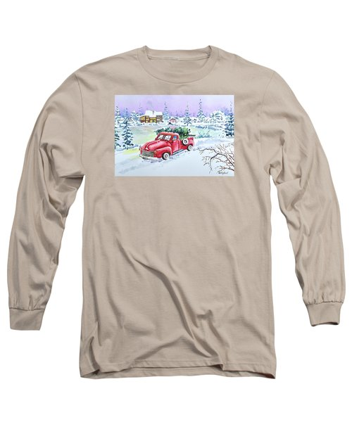 Winter Season Long Sleeve T-Shirt
