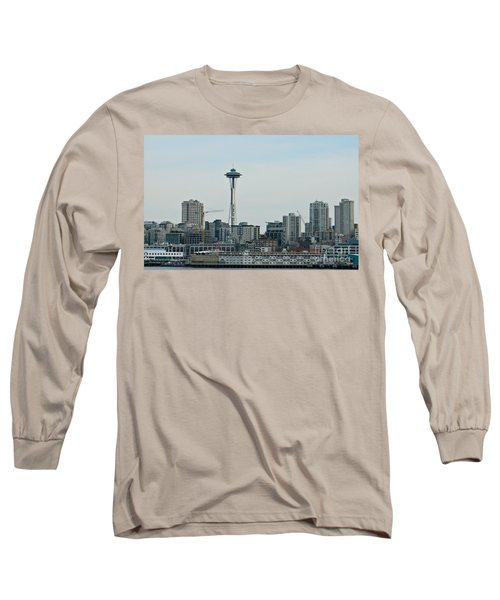 Seattle Washington Long Sleeve T-Shirt by Chalet Roome-Rigdon
