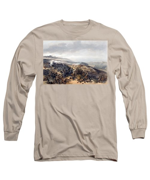 Second Charge Of The Guards When Long Sleeve T-Shirt