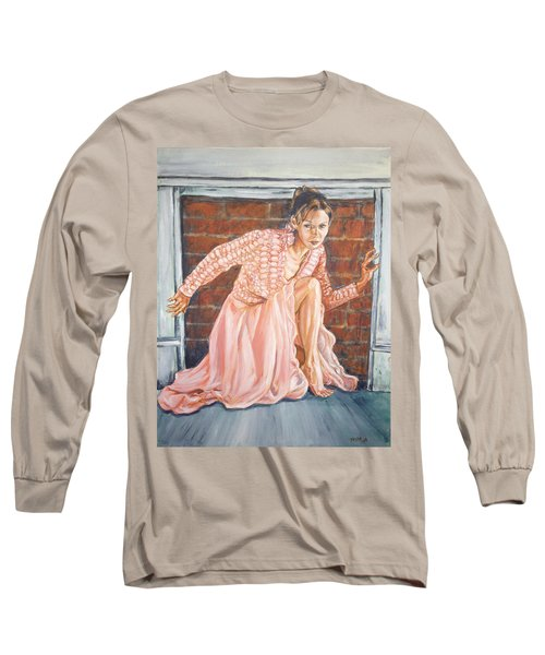 Long Sleeve T-Shirt featuring the painting Secret Passage by Bryan Bustard