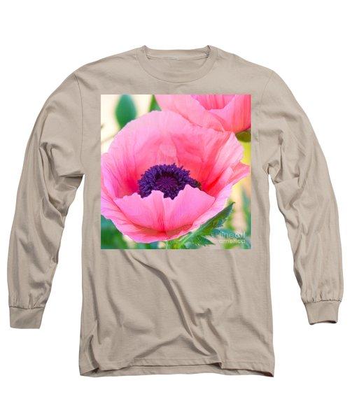 Seductive Poppy Long Sleeve T-Shirt