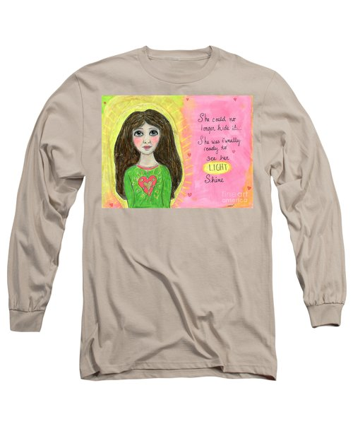 See Her Light Shine Long Sleeve T-Shirt